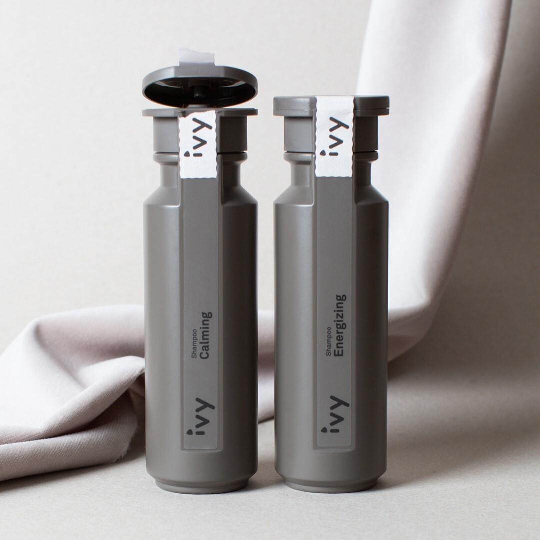 IVY Calming en Energizing shampoo voor de gevoelige hoofdhuid